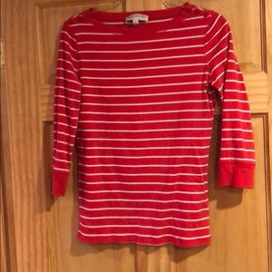 Jones New York 3/4 sleeve tee. EUC. Med